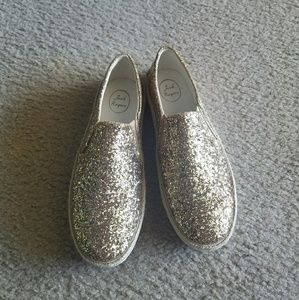 Gold Sparkle Jack Rogers Tucker Sneaker NWT